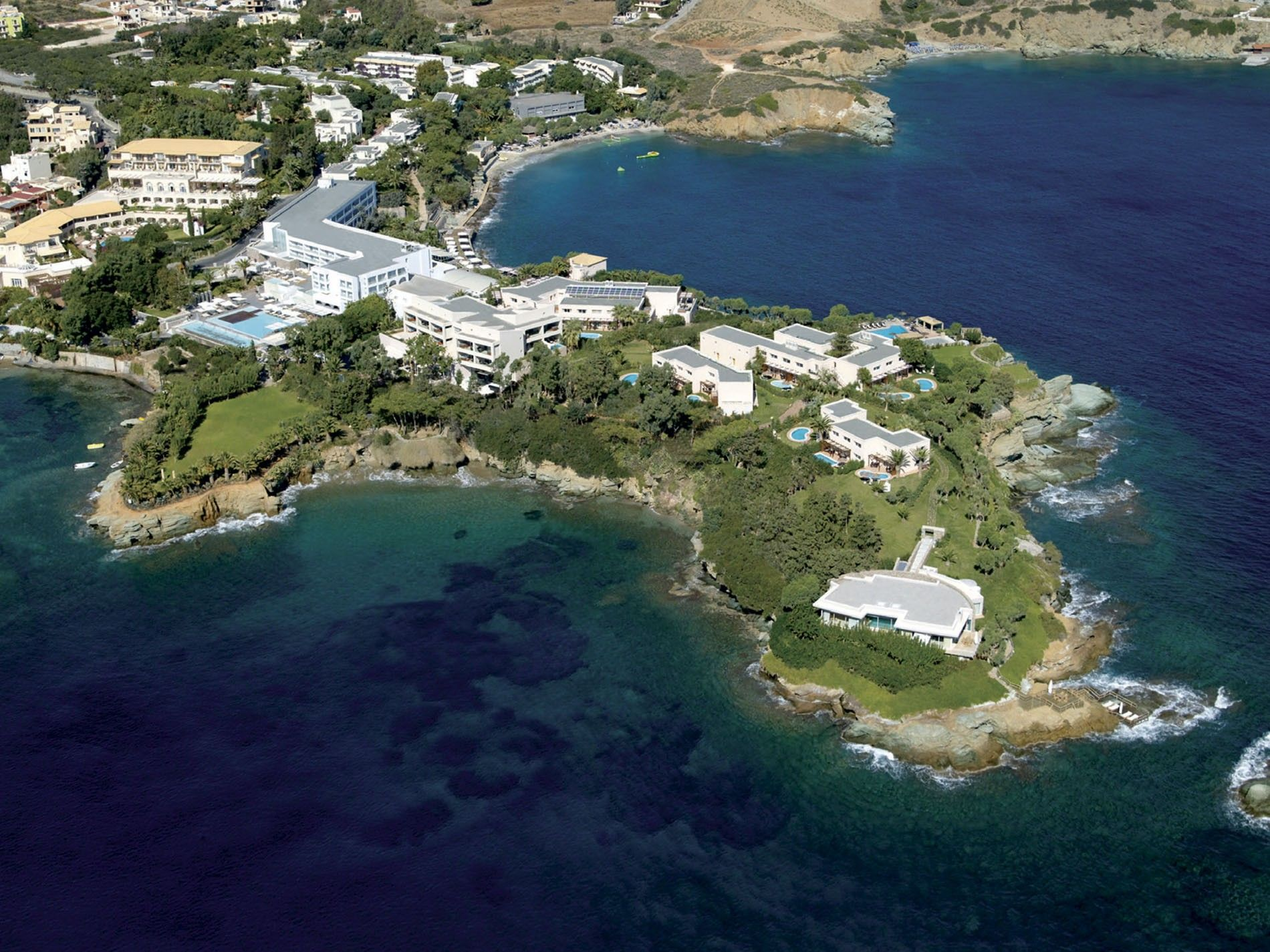Aerial view of Out Of The Blue, Capsis Elite Resort