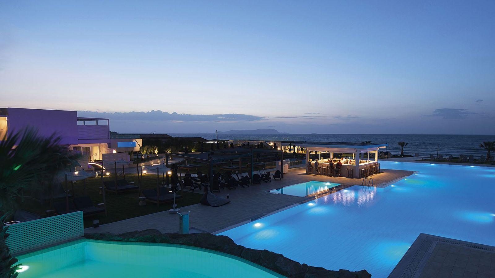 Outside pool overlooking the sea at TUI Sensimar Insula Alba Resort and Spa