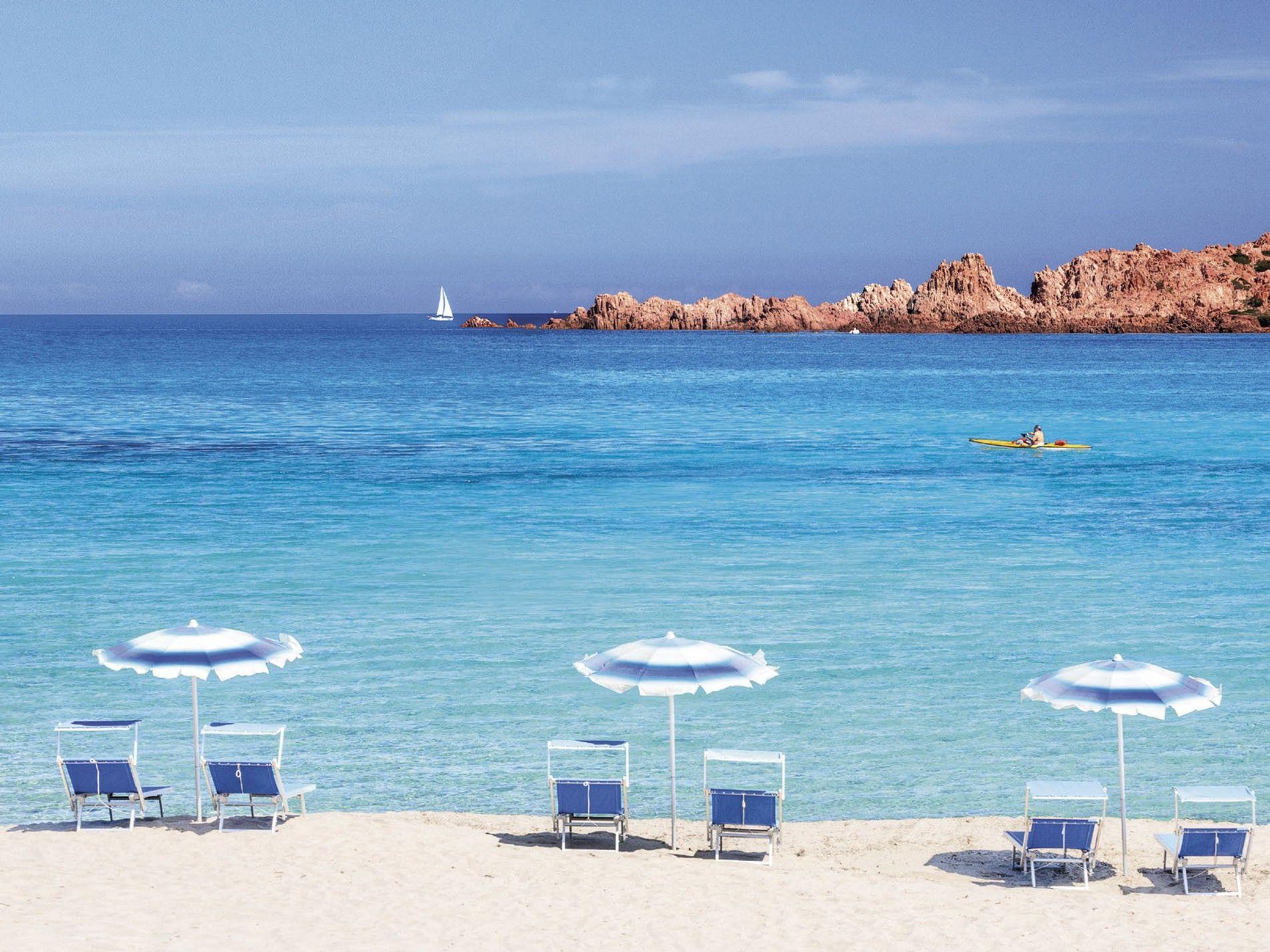Beach at Hotel Marinedda Thalasso and SPA