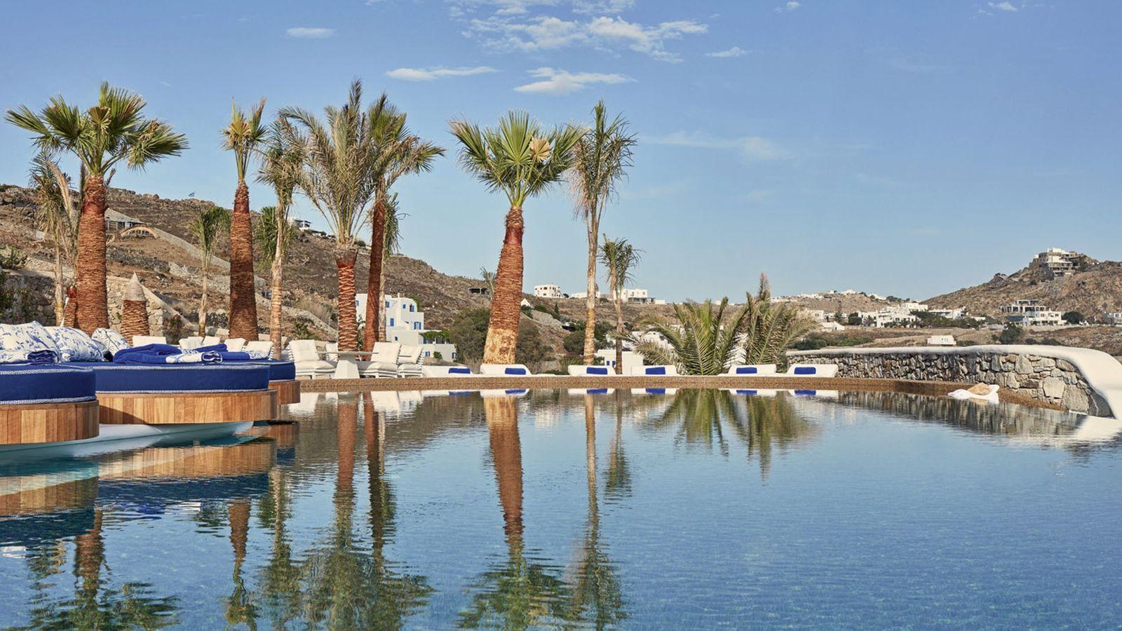 Outdoors pool at Katikies Mykonos