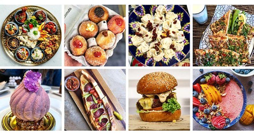 Food Instagram images