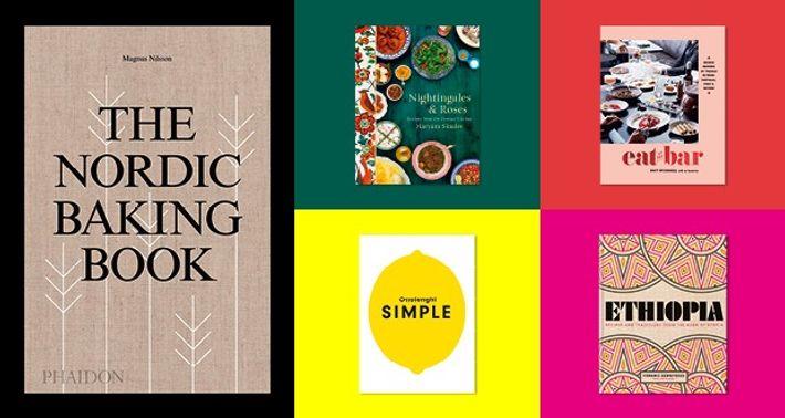 New cookbooks.