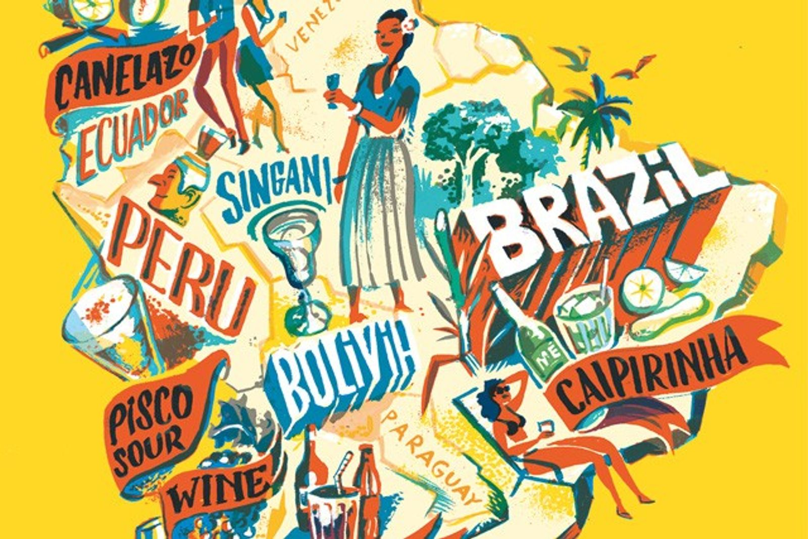 Raise a glass: South American drinks guide