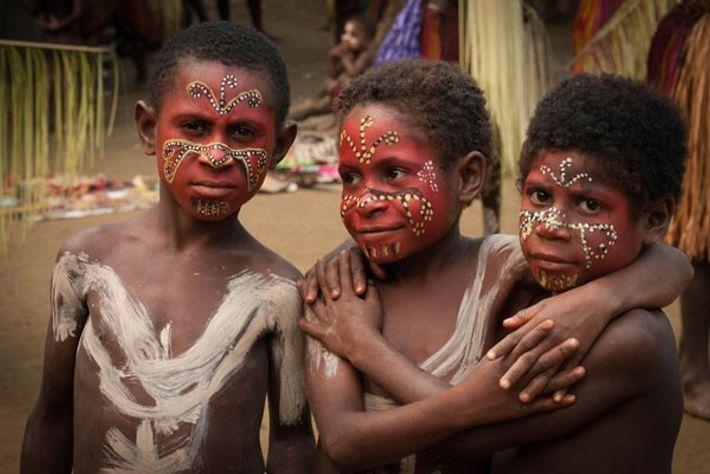 Faces of Wamut village