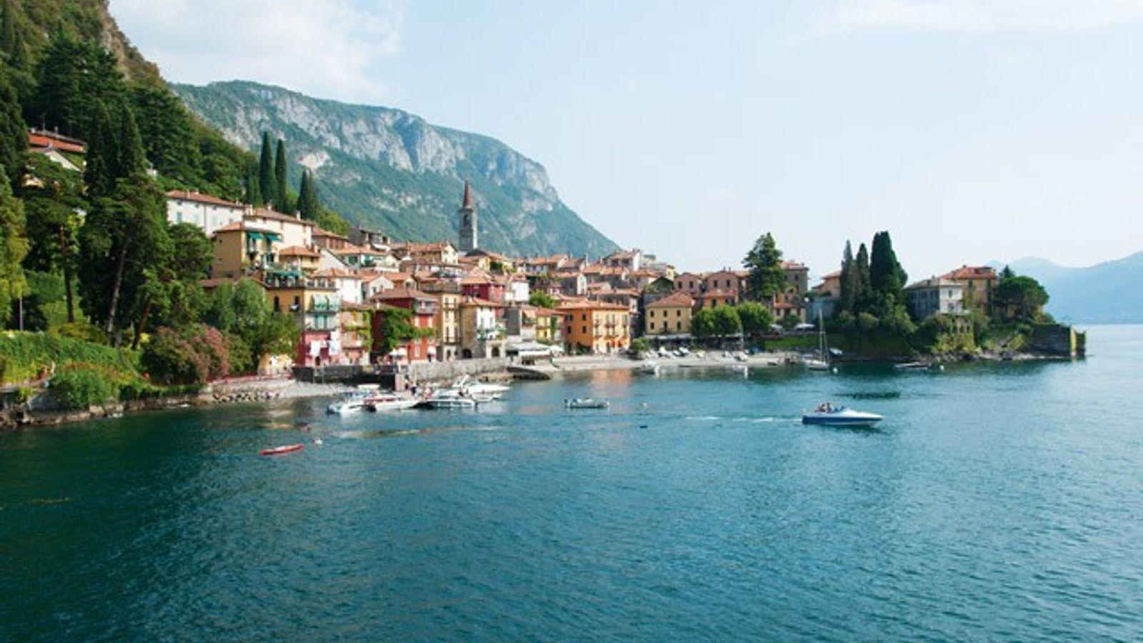 Varenna waterfront, Lake Como