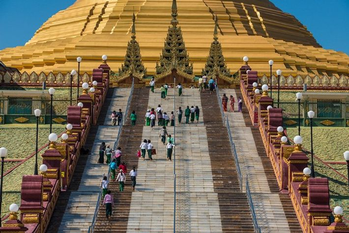 Pagoda in Naypyitaw, Myanmar