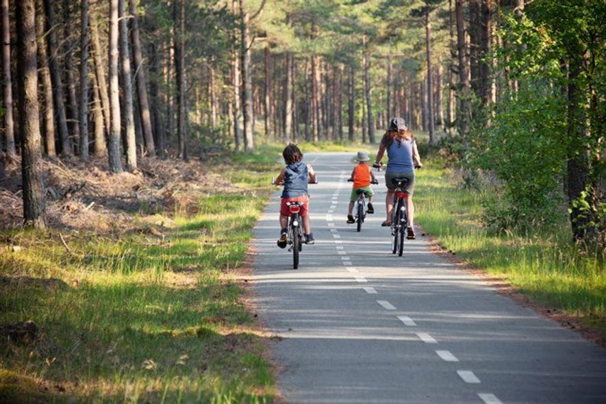 Cycling in Denmark.