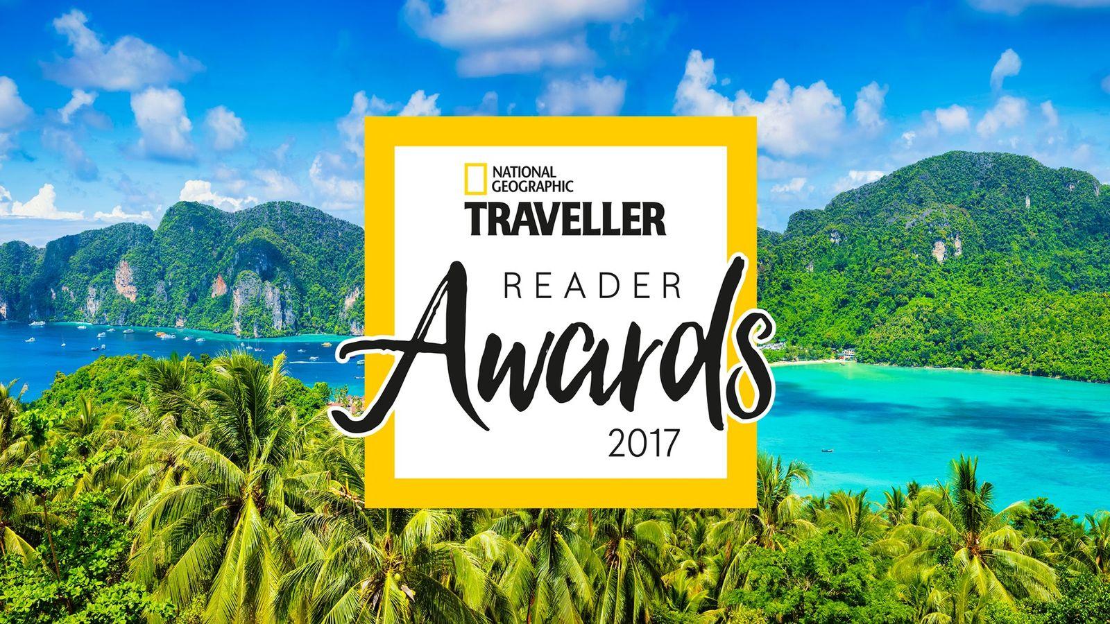 National Geographic Traveller Reader Awards 2017