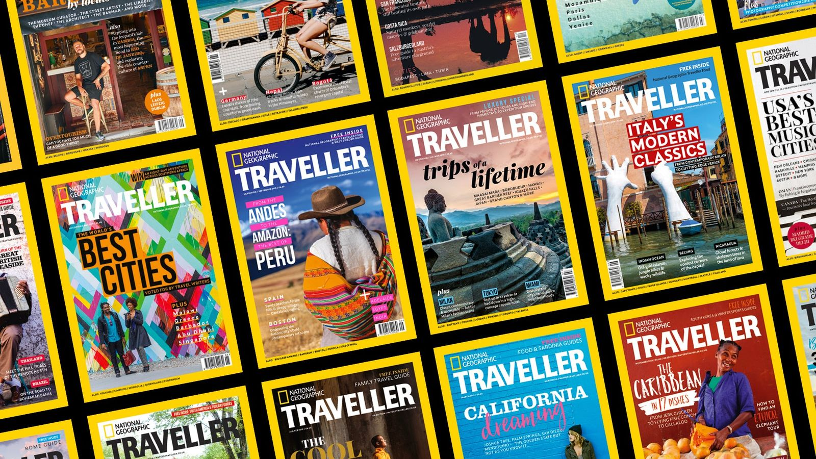 National Geographic Traveller (UK) covers