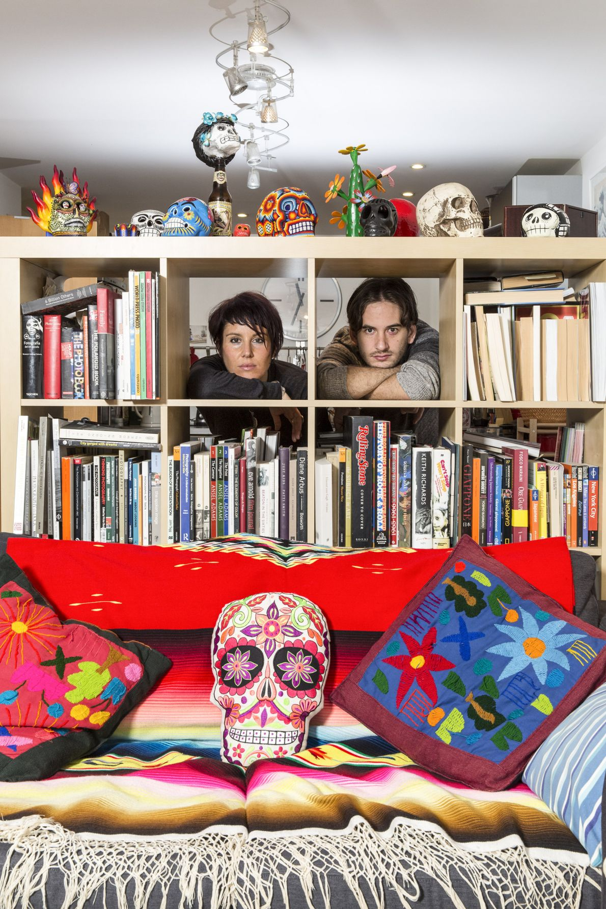 Mexico and Italy: Carlotta Cardana with her husband Marcos Villasenor.