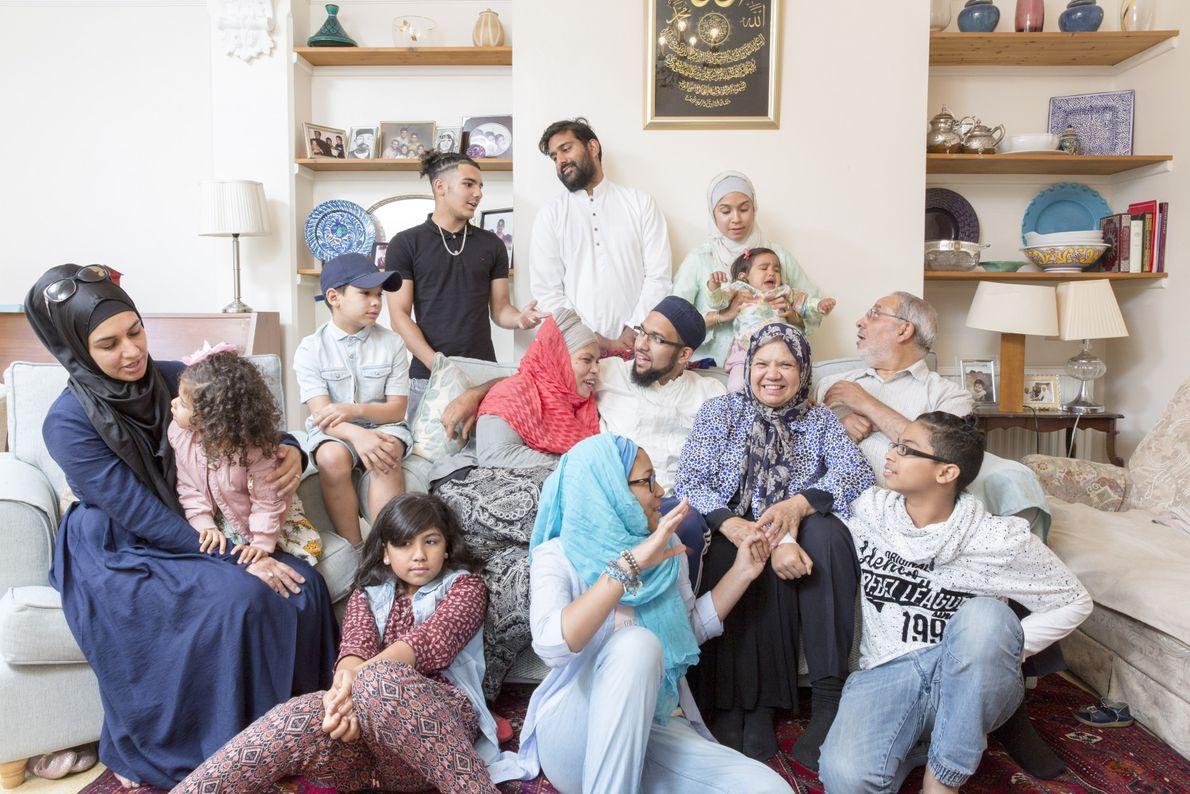 Libya, South Africa, Pakistan, Cyprus & Turkey: From Libya, Ashur Shamis (sat far right, white shirt) ...