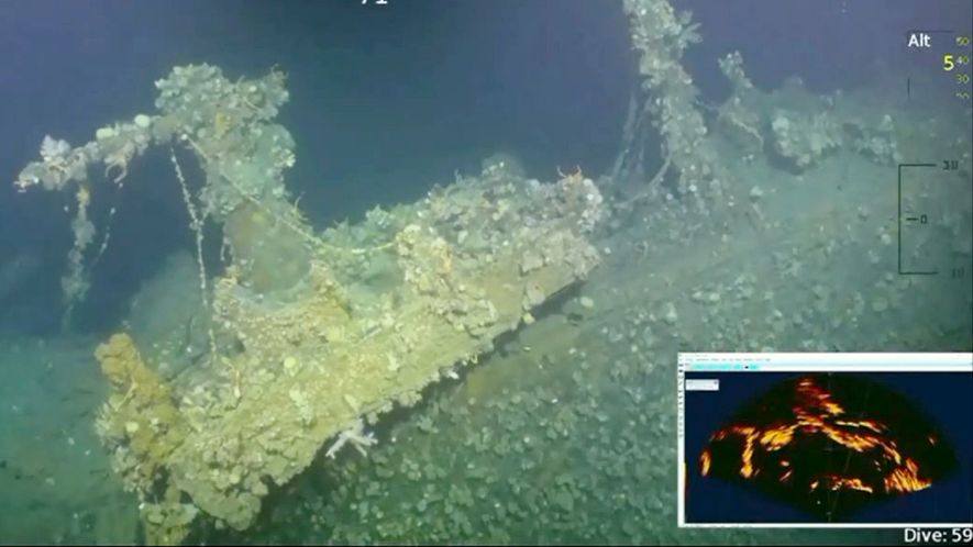 New Underwater Video: This Pearl Harbour Warship Fired First American Shot of WWII