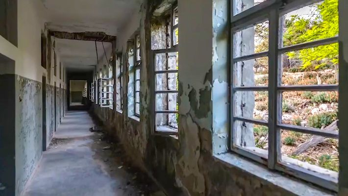 Get a haunting look at Croatias abandoned island prision