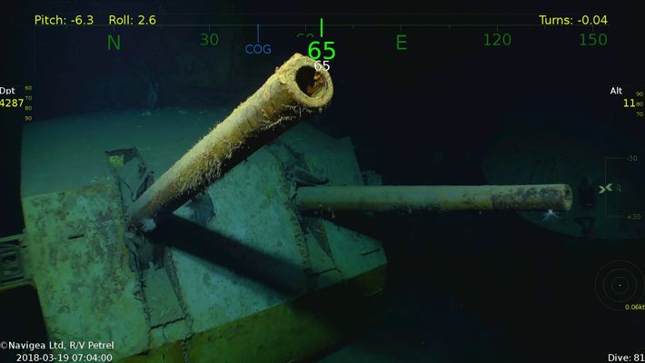 WWII Shipwreck USS Juneau Found—Famous for Five Sullivan Brothers