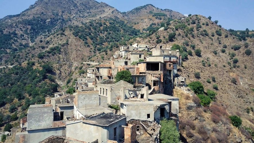 Explore a Ghost Town in Southern Italy
