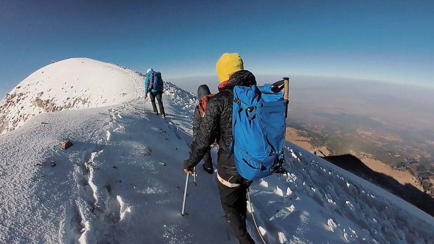 How Climbers Take on North America's Highest Volcano