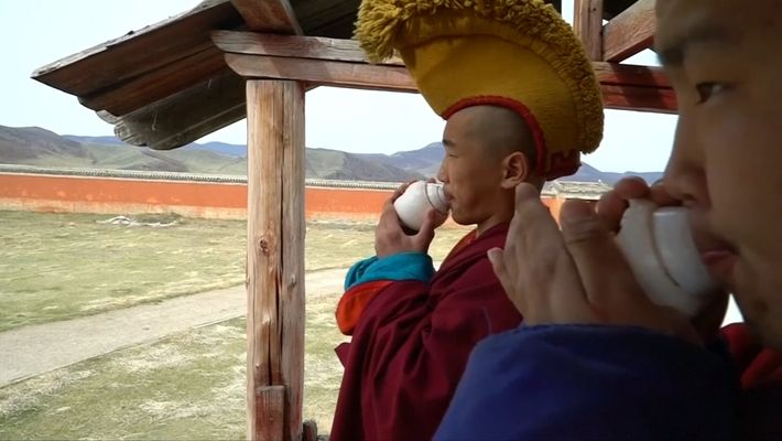 Watch Millennial Monks Adapt to a Modernizing World