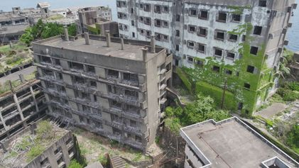 Explore 'Battleship Island,' Japan's Decaying Ghost Town