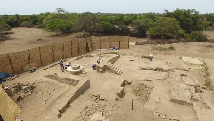 Explore an Ancient Peruvian Banquet Hall