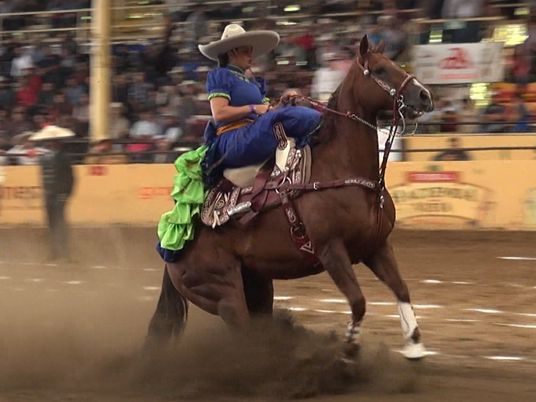 Watch Mexico's Extreme Sport of Horse Sliding