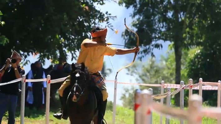 Watch The Incredible Sport of Mounted Archery