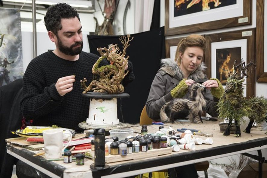 Weta Workshop Personal Tour artists