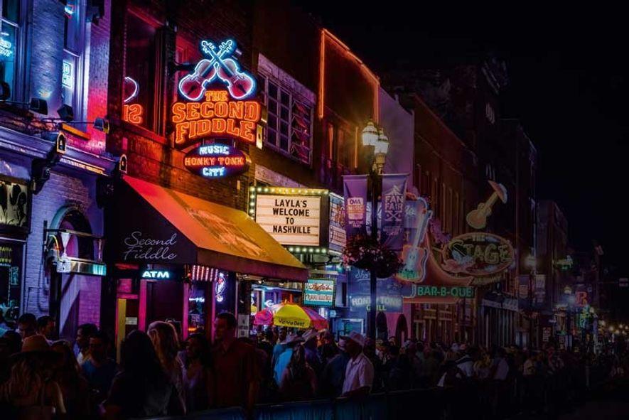 Lower Broadway, Nashville