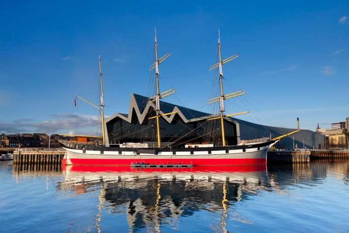 Glasgow's rich ship-building history and vessels such as theGlenlee(pictured) are lovingly remembered at TheTall Ship at ...