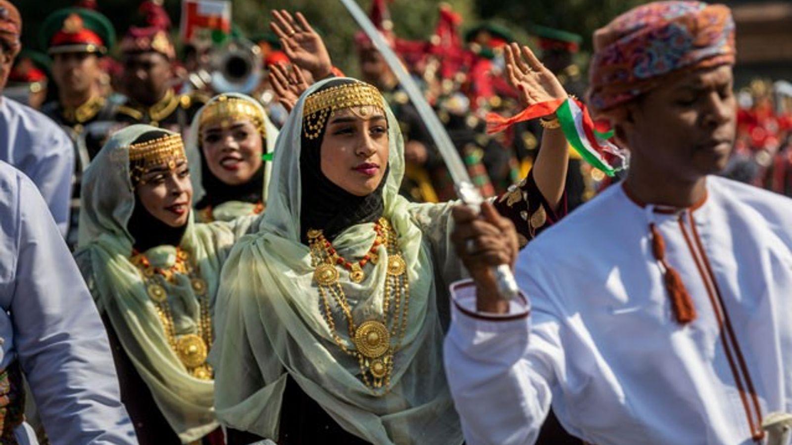 A traditional Omani wedding
