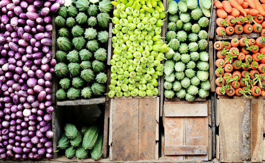 Food category winner: Kandy Central Market, Sri Lanka