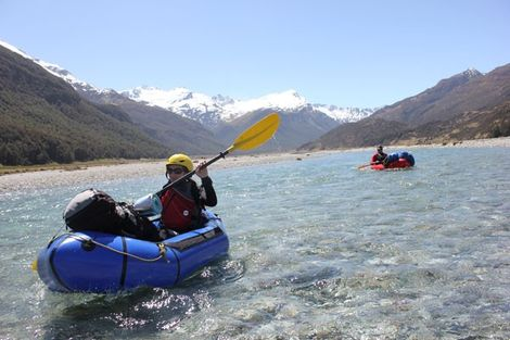 New Zealand: The pleasures of packrafting