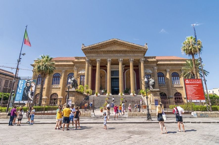 Teatro Massimo. Image: Getty