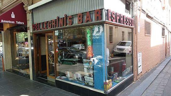 Pellegrini's Espresso Bar, Melbourne.