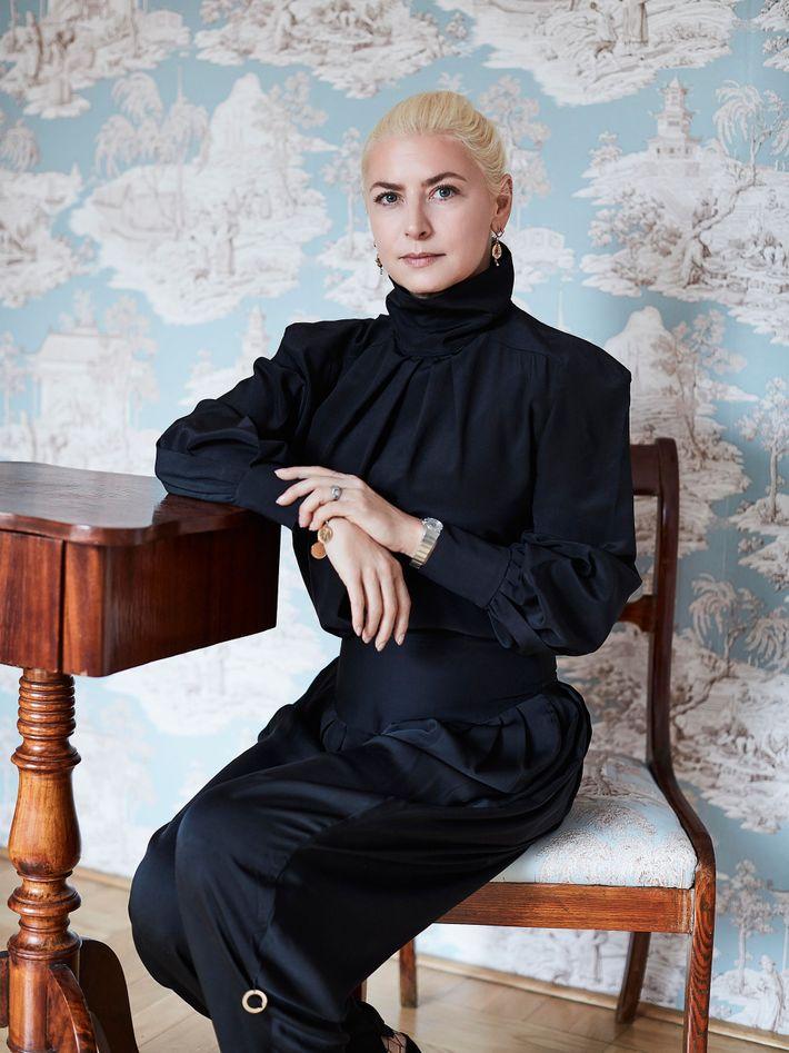 Warsaw fashion designer Ania Kuczyńska