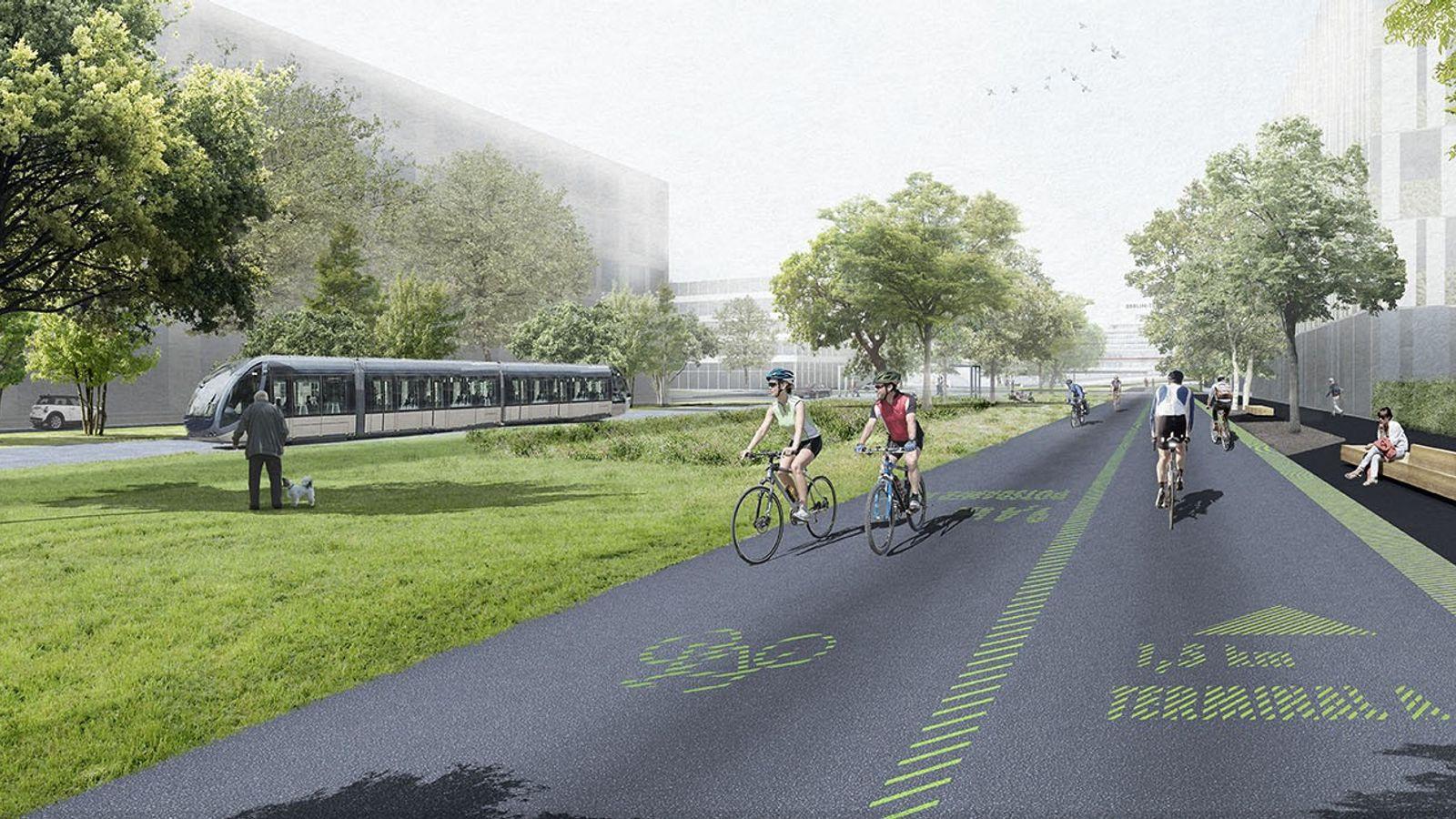 Plans for Berlin Tegel's redevelopment