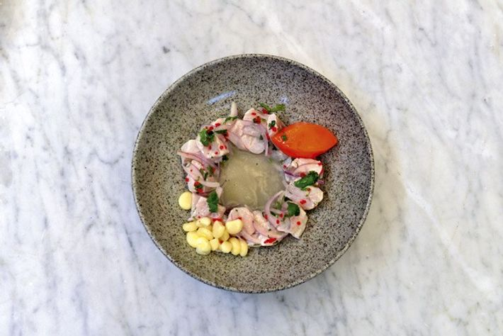 Ceviche at Lima 27.