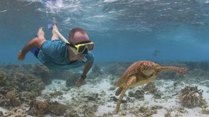 Meet the changemakers: Peter Gash from Lady Elliot Island Eco Resort