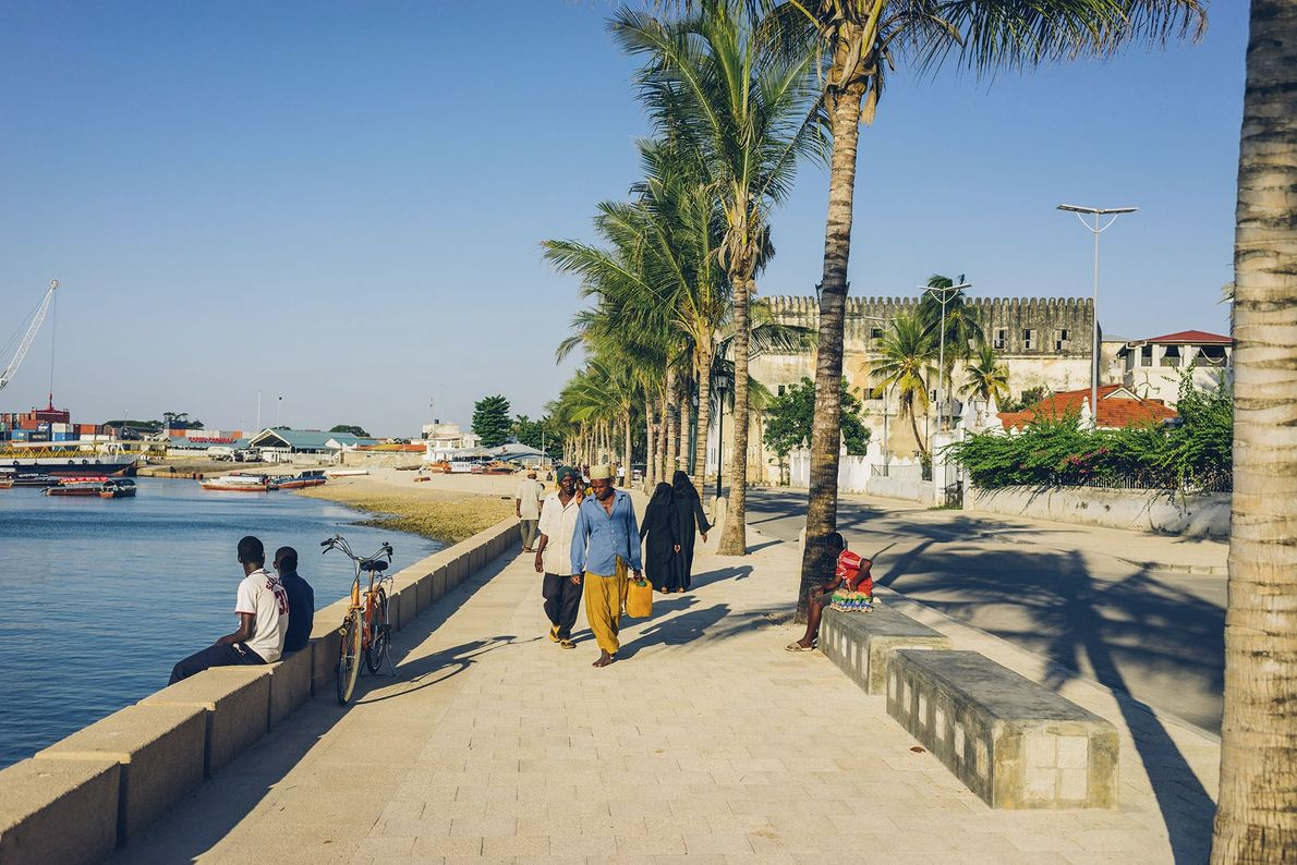 Stone Town's harbour.