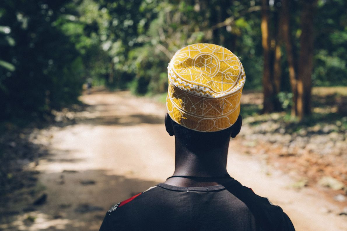 A traditional Bargashia hat.