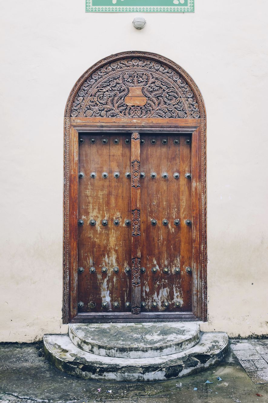 Stone Town is arguably most famous for its iconic doors.