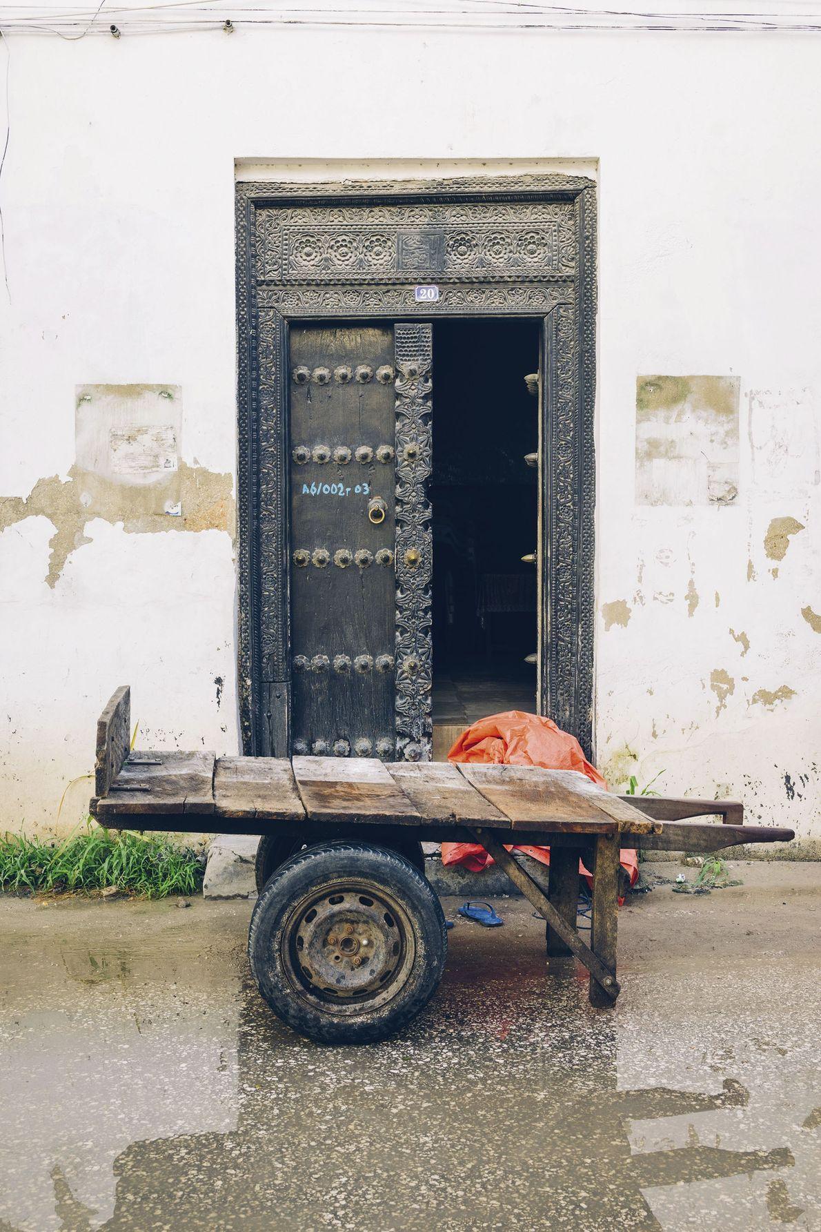 A typical door.