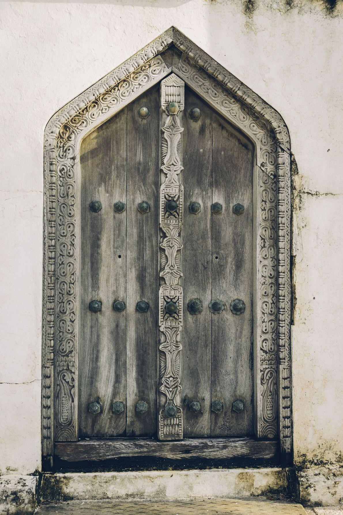 A door in Stone Town