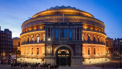 The Royal Albert Hall has hosted cultural luminaries from Einstein to Hendrix. This is its story.