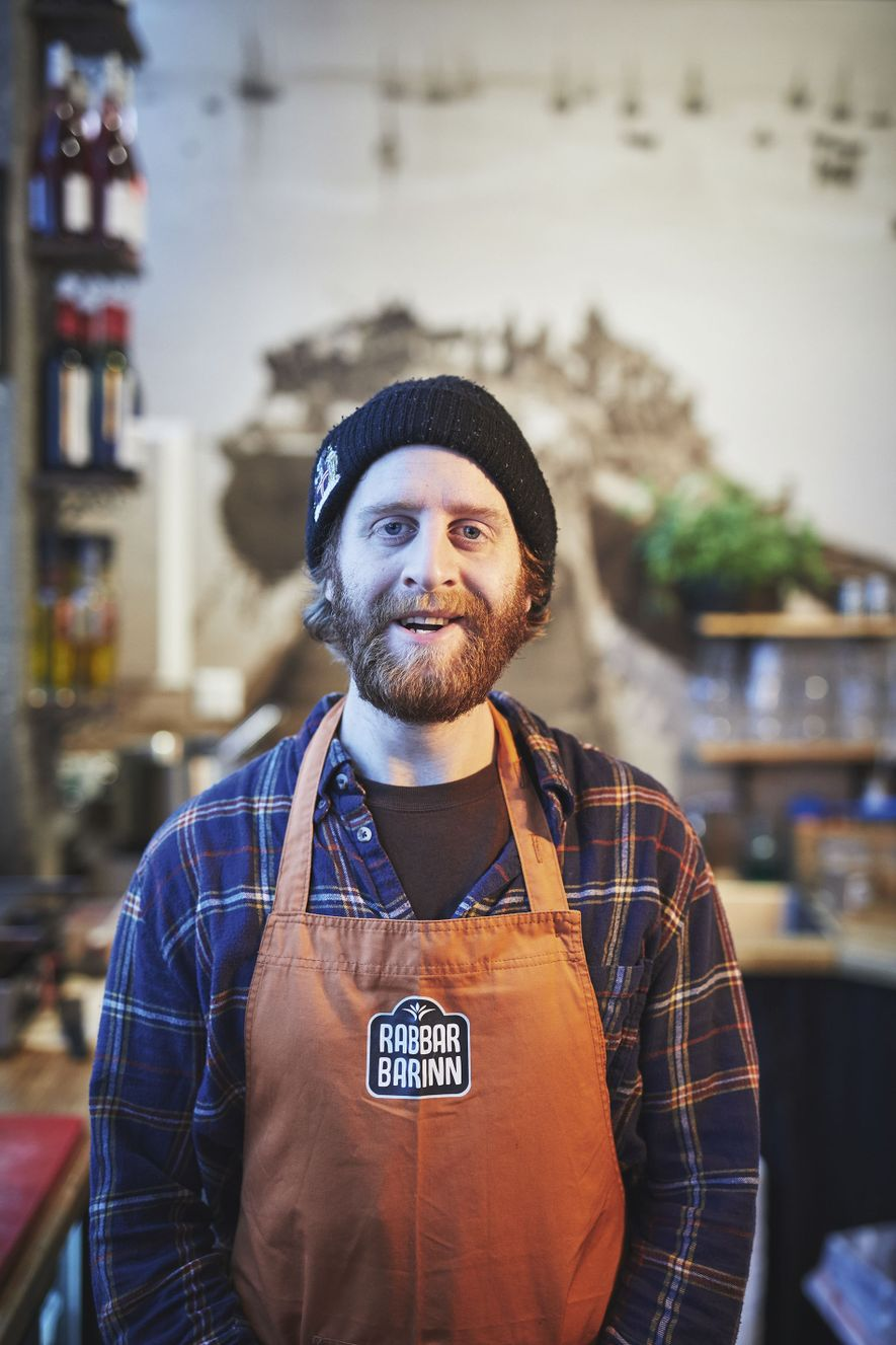 Rabbar Barinn, a stallholder at Grandi Mathöll food hall