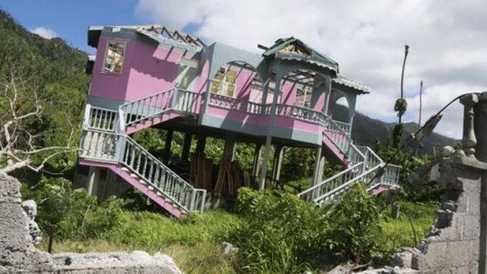 Hurricane Maria damage. Image: Nigel Tisdall
