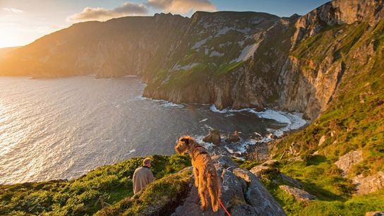 Sunset at Sliabh Liag, Donegal