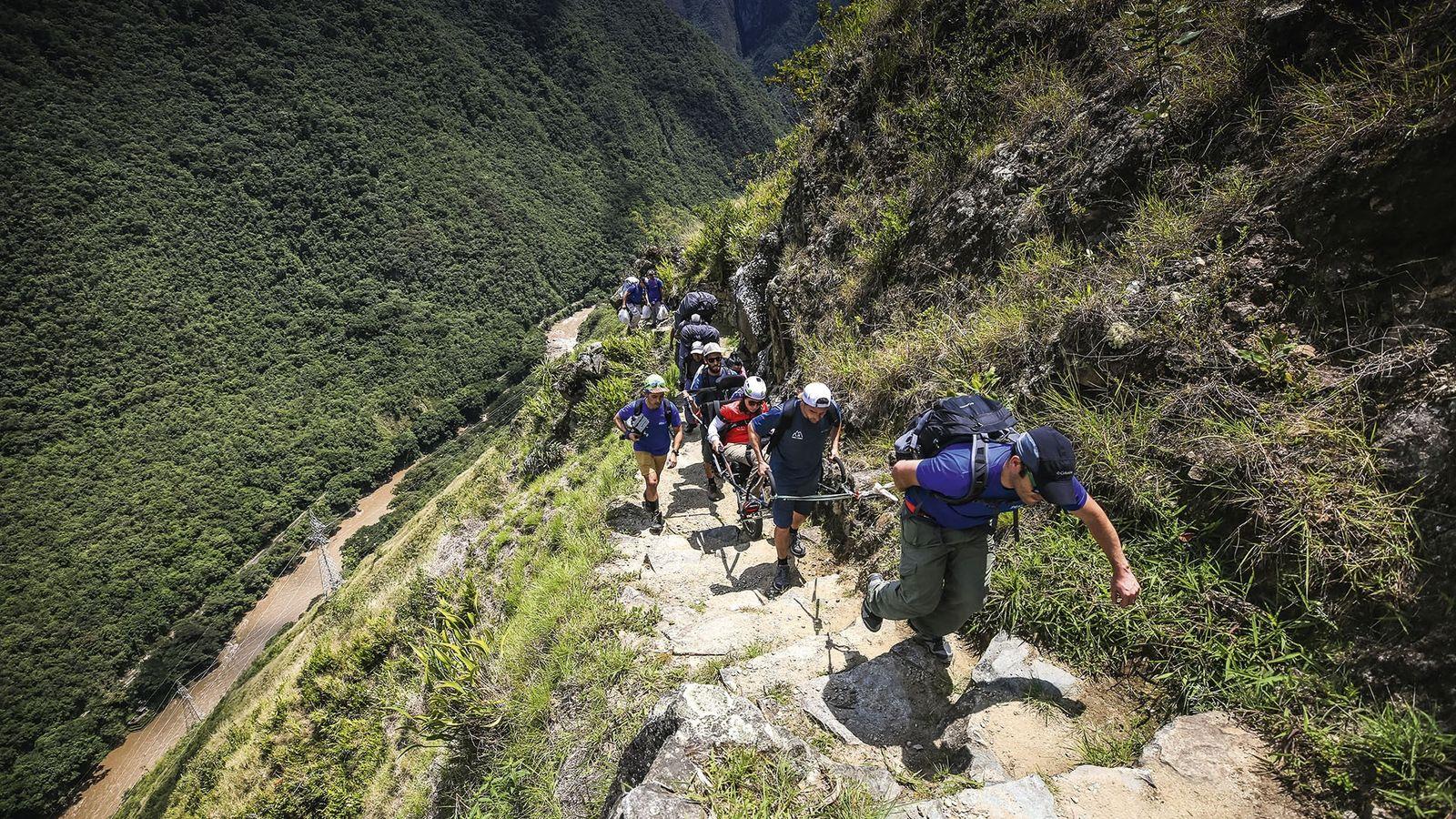 Hiking the Inca Trail, Peru, with Wheel the World