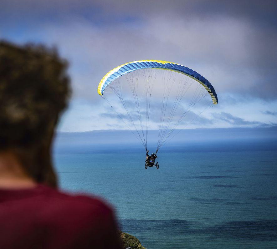 Tetraplegic/quadriplegic flying, New Zealand.