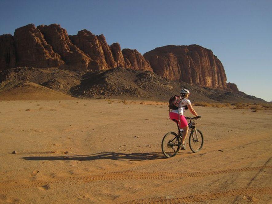 Jordan: Cycling through the desert