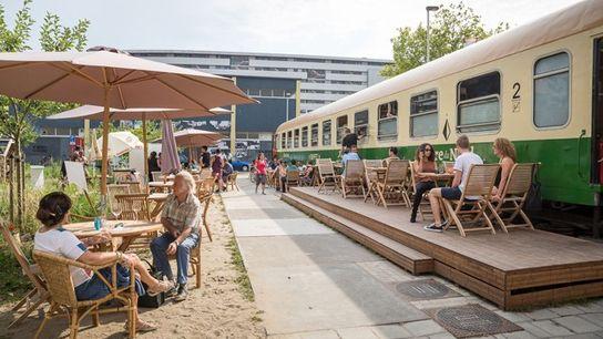 Gare du Nord restaurant, Rotterdam.